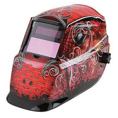 Lincoln Electric K2933-1 Welding Helmet Shade 9 To 13 Redblack