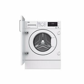 Beko WDIY854310 Integrated Washing Machine & Dryer - White Washer RRP £500+ FAULTY SPARES OR REPAIRS