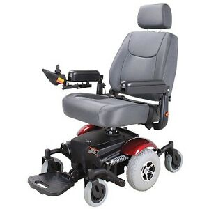 MERITS Power Wheelchair P326A Mid-Wheel Drive Moose Jaw Regina Area image 1