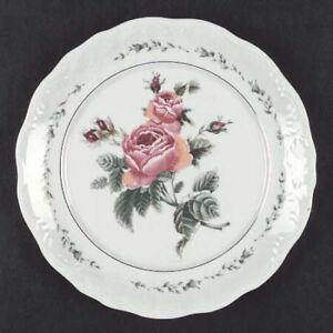 44pc Gibson China Victorian Rose Dinner & Set - MINT COND.$100