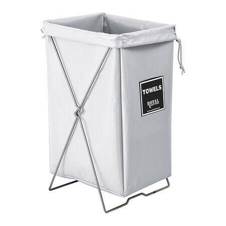 Royal Basket Truck G00-Wwx-Thk Towel Hamper Kit,30 Gal,White