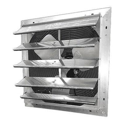 Dayton 484x47 Shutter Mount Exhaust Fan 24 1 Speed 4600 Cfm 115v