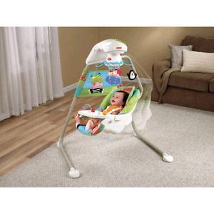 Fisher-Price Discover 'n Grow Cradle Swing with a/c adapter