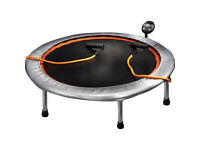 Hardly used EVERLAST trampoline with counter & toning tube only £25