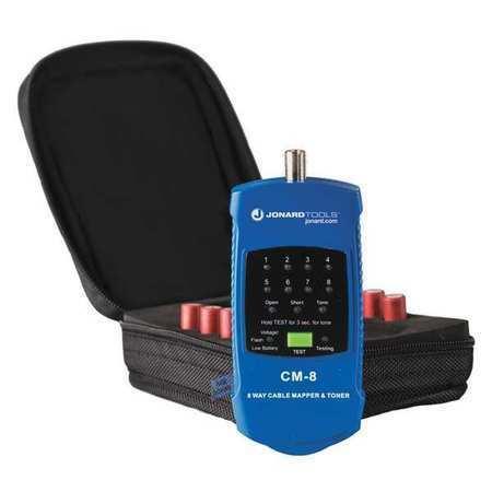 Jonard Tools Cm-8 Cable Mapper/Toner,Led,2-1/4 X5-1/4 X3/4