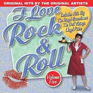 VARIOUS-I LOVE ROCK N ROLL VOL 5  CD NEW
