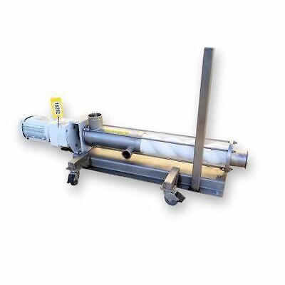 Used 5hp Seepex Bcso Range Sanitary Progressive Cavity Stainless Steel Pump
