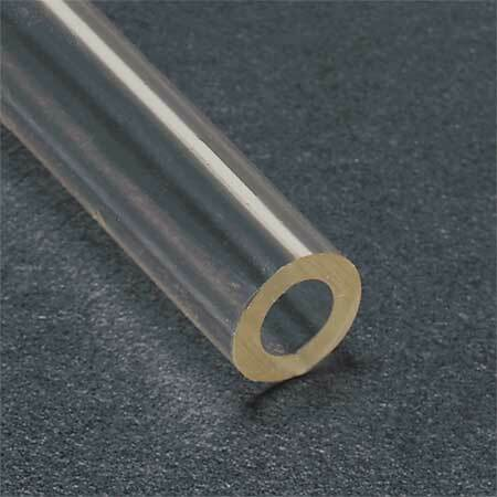 TYGON ACF00007 Tubing,Clear,1/8 In. Inside Dia,50 ft.