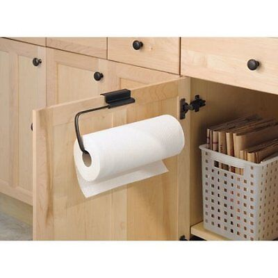 InterDesign Axis Over-the-Cabinet Paper Towel Holder, Bro