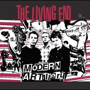 LIVING END - MODERN ARTILLERY -BRAND NEW AND SEALED CD