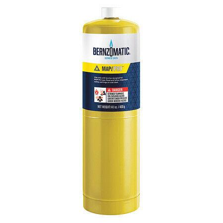 BERNZOMATIC 333668 Fuel Cylinder,MAP-Pro,14.1 oz