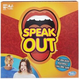 SPEAK OUT BOARD GAME *Sold Out In Stores* Must have game For Christmas 2016