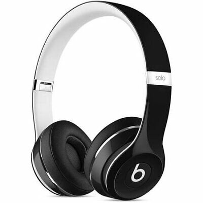 Beats Solo 2 Luxe Edition Wired On-ear Headphones, Black