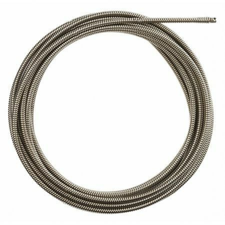MILWAUKEE 48-53-2775 Drain Cleaning Cable,50 ft. Max. Run