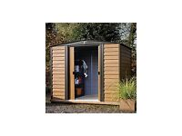 8 x6 brand new in box woodvale metal shed