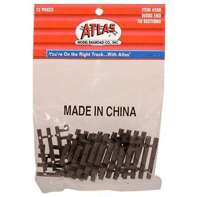Flex Track End Ties - Atlas HO Code 83 Flex-Track End Tie ATL598