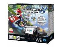 NINTENDO WII U 32GB - BOXED - AS NEW CONDITION - 3 GAMES