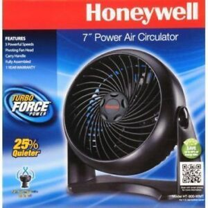 Honeywell - Table Air Circulator Fan - Black