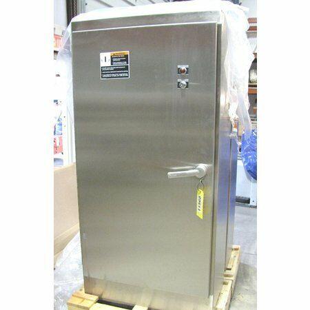 Unused Stainless Steel Hoffman Nema 4x Enclosure Cabinet A723618ssfsn4