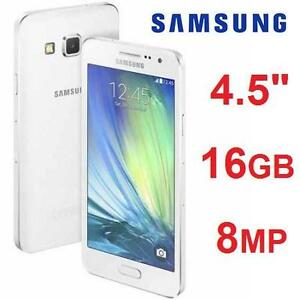 NEW SAMSUNG GALAXY A3 SMARTPHONE 16GB A300H CELL PHONE - UNLOCKED - WHITE 106504354