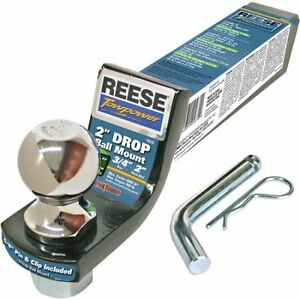 "Reese Hitch with 2"" ball and pin"