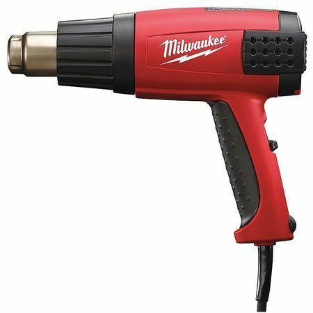 MILWAUKEE 8988-20 12.5-Amp Corded Heat Gun, 120VAC 1500W
