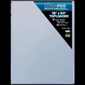 """Ultra Pro 18"""" x 24"""" TOP LOADERS"""