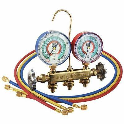 Jb Industries 22733 Mechanical Manifold Gauge Set3 Valves
