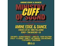 Amine Edge & DANCE Present: CUFF