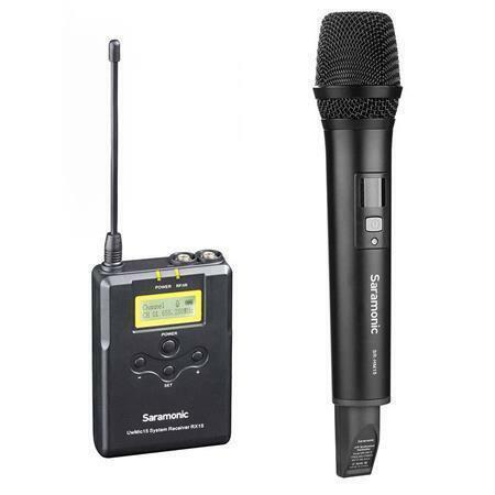 SARAMONIC UWMIC15A UwMic15 UHF Wireless Handheld Microphone System