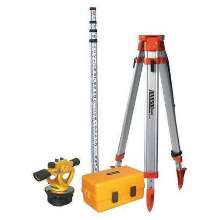 Johnson 40-6912 Builders Transit Level Kit,22X,200 Ft