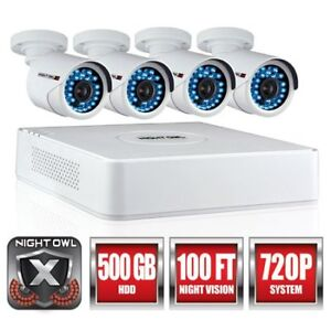 Night Owl's 4 Channel 720 p HD Video Security System