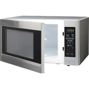 BIG microwave sharp-STAILESS STEEL-1.8CUFT-IN BOX WARRANTY-$89.9