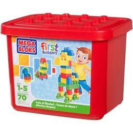 MEGA BLOKS NEW IN TUB £7