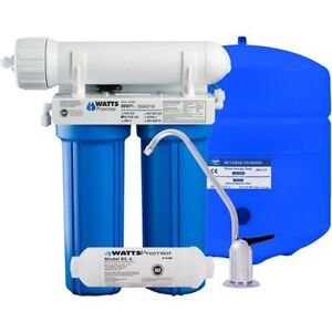 Reverse Osmosis System - Watts Premier 4-Stage