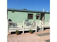 Caravan for hire St Andrews holiday park Kinkell Braes.