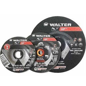 Walter disque a grinder 08B710 7″ HP Grinding Wheel boite de 25