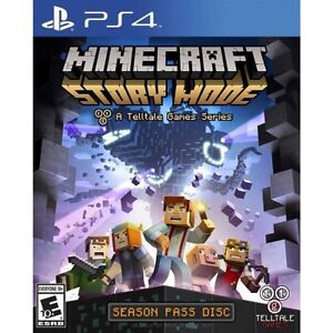 Brand new sealed minecraft story mode ps4