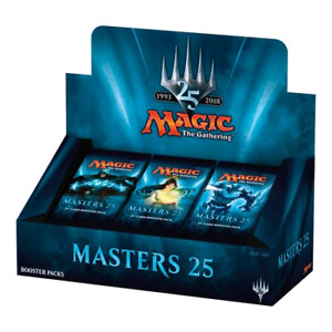 MTG Masters 25 booster packs
