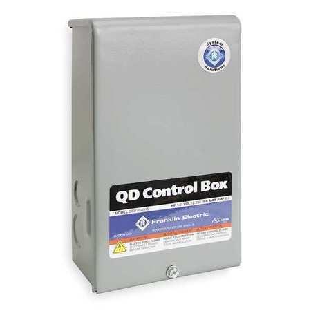 FRANKLIN ELECTRIC 2801084915 Control Box,1HP,230V,1Phase