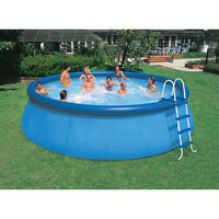 13' Aqua Leisure Pool + Pump + Cover + Ladder + Etc.