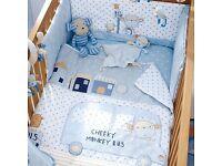 Baby boys next blue monkey bedding