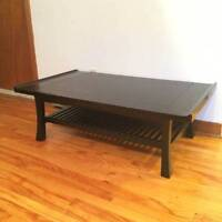 Coffee table and side tables / table de selon et tables basses