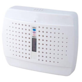MD100 Twin Pack Bundle 480 ml Rechargeable Desiccant Mini Dehumidifier / 29.99 NOW 12, still in box