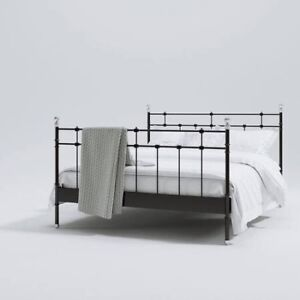 Wrought Iron Four Post Bed Frame - queen