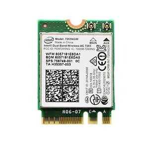 Intel 7265NGW AC Wifi Laptop Card Dual Band Carte Wifi M.2