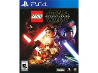 Lego Star Wars - the force awakens PS4 game
