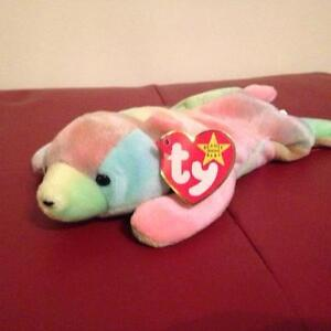 Sammy the tie-dye cub bear Ty Beanie Baby stuffed animal Kitchener / Waterloo Kitchener Area image 1