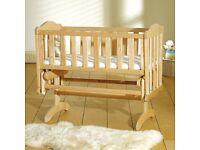 Saplings Glider Crib (Natural)