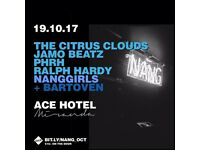 NANG W/ THE CITRUS CLOUDS, PHRH, JAMO BEATZ AT MIRANDA LONDON